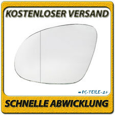 Außenspiegel Spiegelglas für VW SHARAN ab 2010 links Fahrerseite asphärisch