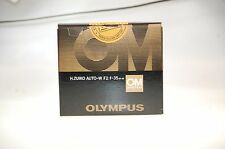 Olympus Zuiko MC Auto-W 1:2 35mm OM-System Objektiv OVP