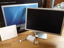 "APPLE HD CINEMA DISPLAY MONITOR A1082 23"" 90GHZ 1920X1200 WIDESCREEN *24HR DEL*"