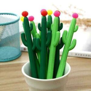 Cute Cactus Design Gel Pen Writing Pen Office School Gift V3N2 F5V8 O0Z0