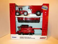 NEW 1/32 Case IH 8230 Harvesting Set with STX500 Tractor & Grain Cart