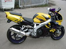 Honda CBR900 Fireblade 92-95 stainless round ROAD LEGAL Performance Exhaust Can
