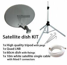 Paraboles satellite 45 cm pour récepteur et décodeur de télévision