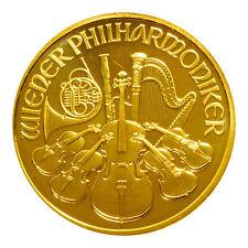 1 oz Gold Wiener Philharmoniker Österreich Verschiedene Jahrgänge