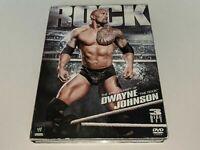 THE ROCK: Epic Journey Of Dwayne Johnson 3-Disc WWE Wrestling DVD Set Matches+