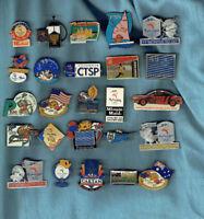 #D368.  #5  LOT OF TWENTY FIVE OLYMPIC  PINS, MOSTLY SYDNEY 2000