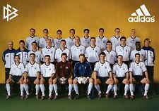 Rudi Völler Kahn Lehmann Fankarte 2002 Deutsche Fussball Nationalmannschaft