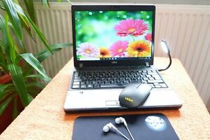Fujitsu P772 12 Zoll HD l SSD u AKKU NEU l Core i7 I Windows 10 PRO 64 I DVDRW