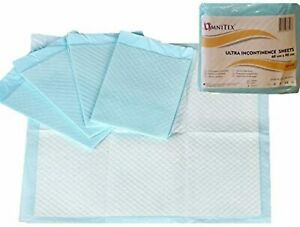 Disposable Incontinence Kylie Sheets Bed Pads Pack 60 x 90cm Nappy Elderly Baby