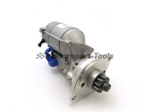 PowerLite Rolls Royce V8 (4 Speed, Threaded Holes) High Torque Starter Motor