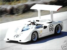 1967 CHAPARRAL 2G JIM HALL CAN ROAD AMERICA PHOTOGRAPH BILLY MITCHELL BRIDGE