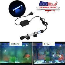 Aquarium Pond 110V 9W Uv Sterilizer Fish Tank Water Clarifier Filter Lamp Light