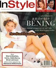 InStyle 9/93,Annette Bening,September 1993,NEW