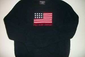 Ralph Lauren Youth 100% lambswool Sweater MED. Polo Jeans Co.