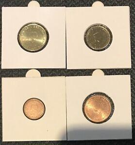 20, 10, 5 ,1 Cent Euro coins - Dutch / Netherlands / Holland