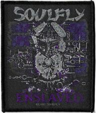 Official Licensed Merch Woven Sew-on PATCH Heavy Metal Rock SOULFLY Enslaved