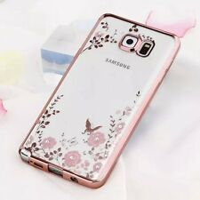 Luxury Case For Samsung S8/9 J3/5/7 Pro 2017 Hybrid Rubber Crystal Diamond Cover