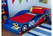 KidKraft Racecar Toddler Bed 76040 Bed NEW