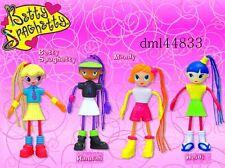 2003 McDonalds Betty Spaghetty MIP Complete Set - Lot of 4, Girls, the 3+