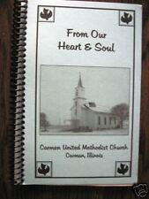 NEW Carman United Methodist Church Cookbook Carman IL