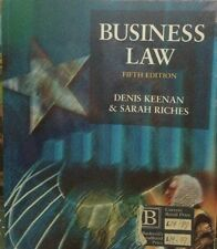 Business Law   Denis Keenan & Sarah Riches   5th Edition    486 Pages