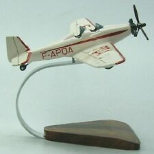 Fouga M-123 Mauboussin Plane Wood Model Large