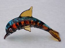 DOLPHIN ORNAMENT@Unique Glass Ornament@Collectable Gift Item@Loveable Marine Set