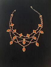 AGATHA PARIS crystal necklace in excellent condition.