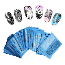48Pcs Nail Stickers Beauty Art Water Decal Decorations Sticker On Nail Accessory