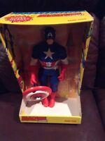 Ideal Captain America Mego Super Rare Large