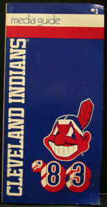 1983 Cleveland Indians Official Media Press Guide, 136 Pages of Facts & Fun!