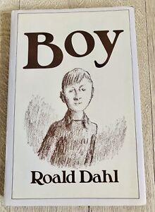 Boy Tales Of Childhood Autobiography Roald Dahl Rare Hardback Book Vintage 1985