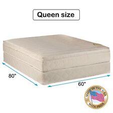 """Comfort Pedic Extra Firm PillowTop Eurotop Mattress & Box Spring Queen 80""""x60"""""""