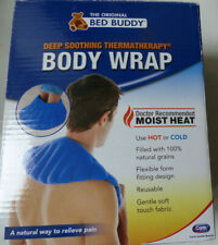 Original Bed Buddy Deep Penetrating Body Wrap Reusable Hot Cold Natural Grains