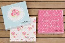 Servietten 3er SET Papierservietten ROSEN Tischdeko rosa grau weiss Rosie Rose
