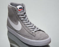 Nike Blazer Mid '77 Suede Men's Grey White Casual Lifestyle Sneakers Shoes