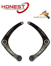 For PEUGEOT 307 2001-2009 FRONT LOWER SUSPENSION WISHBONES ARMS PAIR L/R NEW
