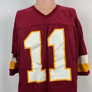 Champion Mark Rypien Washington Redskins Replica Jersey Vtg 90s NFL Red Size 48