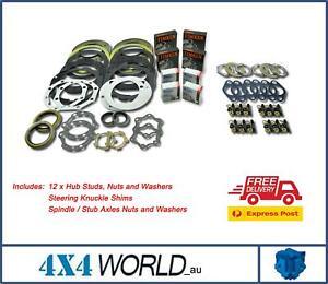 For Toyota Landcruiser FJ80 FZJ80 Series Swivel Hub Wheel Bearing Stud Kit TIM