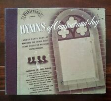 Bibletone Hymns Comfort Joy 5 Shellac 78 rpm Set National Vesper's Quartet