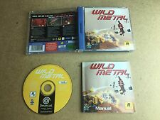 Wild Metal - SEGA Dreamcast (TESTED/WORKING) UK PAL