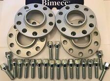 Leichtmetall Spurverbreiterung x 4 + Schlösser für BMW Countryman 20mm S Bimecc m14x1.25 72.6
