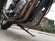 "The ""Cheese Grater""  Bash Guard / Skid Plate - Fits Modern Triumphs"