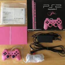 SONY Playstation 2 PINK Console System Boxed Limited SCPH-77000 PS2 Very Good