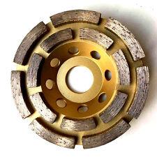 """100mm, 4"""" diamante di rettifica a disco, ruota, Tazza, Doppia Righe Professional"""