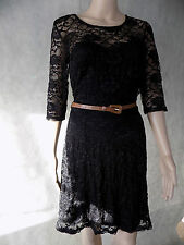New Look Round Neck 3/4 Sleeve Dresses for Women