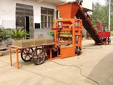 New Concrete Cement Blocks Bricks Making Machine Production Line Shipped by Sea