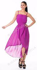 No Pattern Sleeveless Sundress Size Petite for Women