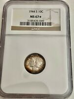 SALE_1944-S U.S. MERCURY HEAD DIME NGC MINT STATE-67*STAR, SEE OTHER MERCURIES