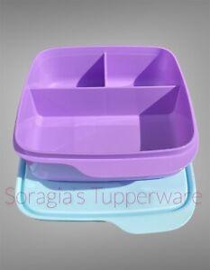 divided lunch box 550ml- Tupperware